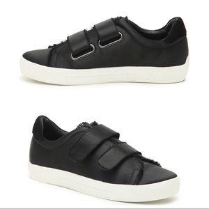 Joie Satin Velcro Sneakers